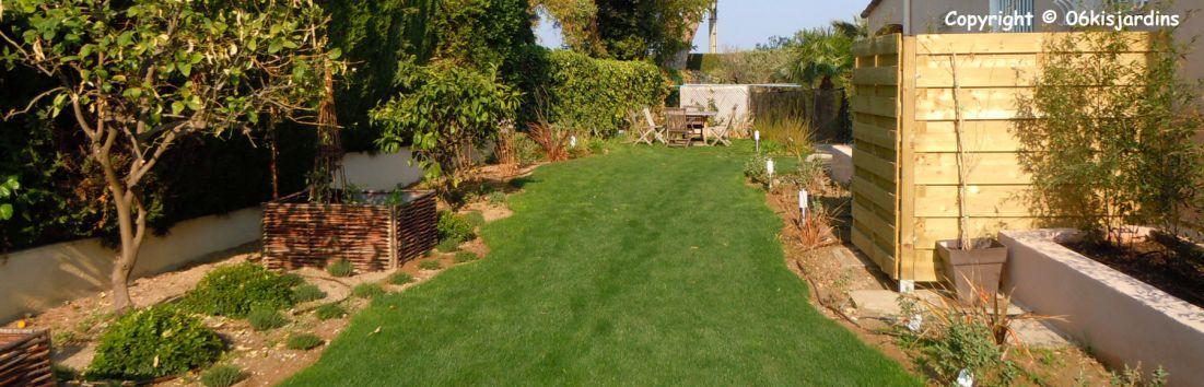 Amenagement jardin en longueur for Amenagement jardin 93
