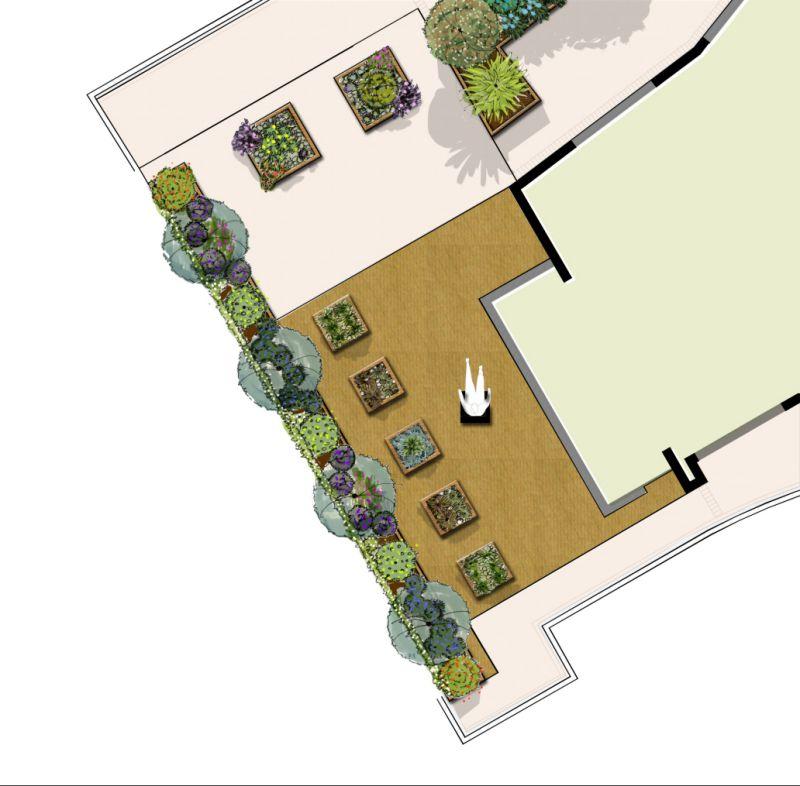 conception jardin. Black Bedroom Furniture Sets. Home Design Ideas