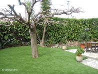 Gazon synthetique jardin - Pose gazon synthetique sur terre ...