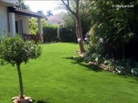 Gazon synthetique jardin Valbonne