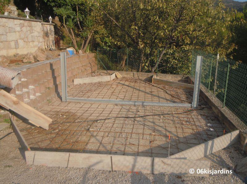 Pose piscine bois azura ubbink for Fabricant piscine bois