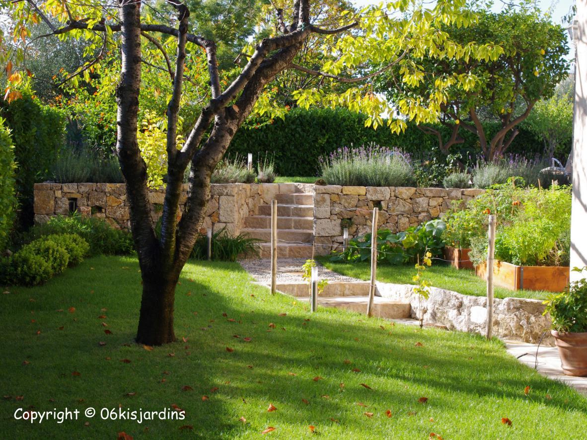 Rénovation jardin Nice - Alpes-maritimes 06