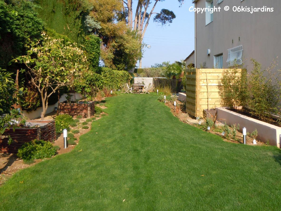 amnagement dun jardin en longueur rsultat fini