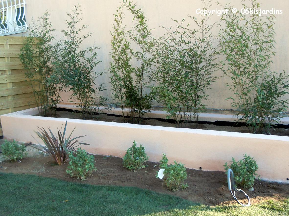 amenagement jardin en longueur alpes maritimes 06. Black Bedroom Furniture Sets. Home Design Ideas